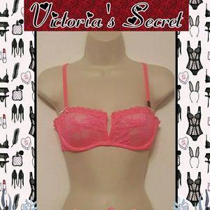 Victorias Secret New Hot Pink Balconette Bra 34B